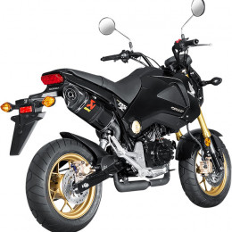 Escape Slip-On Line Honda MSX125 (13-18) (CE) Carbono Akrapovic