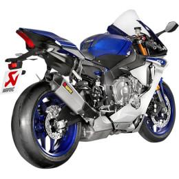 Escape Slip-On Line Yamaha YZF-R1 / R1M (15-16) (CE) Titanio/Carbono Akrapovic