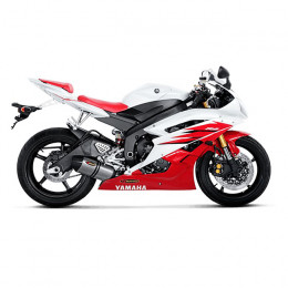 Escape Slip-On Line Yamaha YZF-R6 (06-07) (CE) Titanio/Carbono Akrapovic