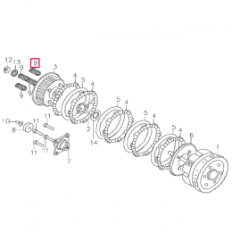 Muelle embrague Pitbike motor 150-3 150-5 YX