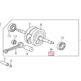 Chaveta encendido Pitbike motor 150-3 150-5 YX