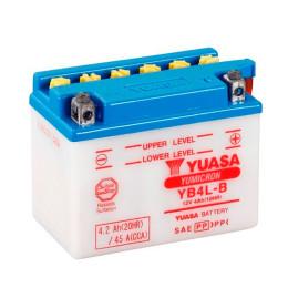 Batería YB4L-B Yuasa sin ácido