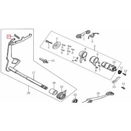 Muelle tensión eje pedal de cambio Pitbike Zongshen 155Z