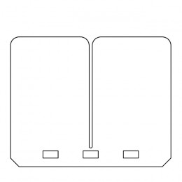 Laminas de carbono para cajas VForce3 CR 125/250 / RM 125 / KX 125 / YZ 125