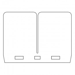Laminas de carbono para cajas VForce3 CR 250 / RM 250 / KX 250 / YZ 250 / KTM 200/250