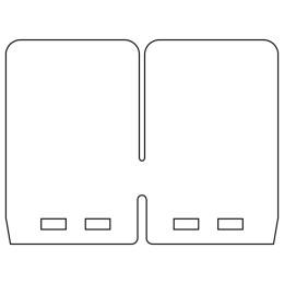 Laminas de carbono para cajas VForce4R CR 125 / YZ 125 / KTM 125