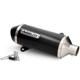 Silenciador Honda SH 125 i / 150 i >20 Arrow Dark Urban aluminio