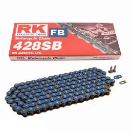 Cadena RK 428SB con 134 Eslabones, Azul