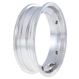 "Llanta tubeless aluminio pulido Vespa 2.10x10"" SIP"
