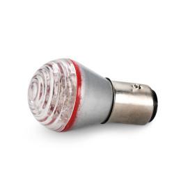 Bombilla BAY15D Roja 12 LEDs 1 unidad Amolux