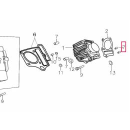 Casquillo centrador cilindro/culata Pitbike motor 150-3/E YX
