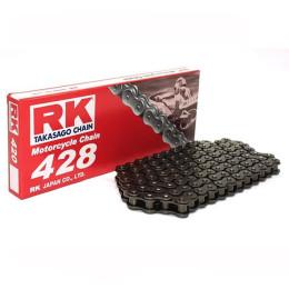 Cadena RK 428M con 138 eslabones negro
