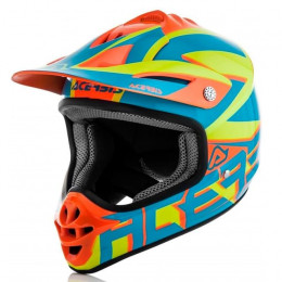 Casco cross Acerbis Impact Junior 3.0 azul naranja