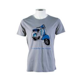 "Camiseta Polini Vespa ""in scooter we trust"""