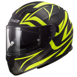 Casco integral LS2 FF320 Stream Evo Jink Matt Black Yellow