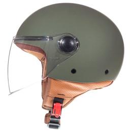 Casco MT Helmets OF501 Street Solid A6 Verde Mate