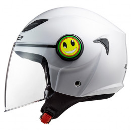Casco Jet Junior LS2 OF602 Funny Blanco