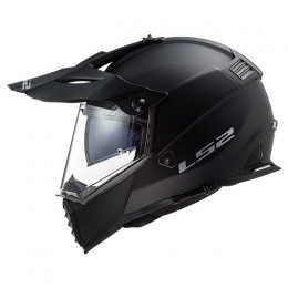 Casco Cross LS2 MX436 Pioneer EVO Negro Mate