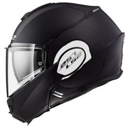 Casco Modular LS2 FF399 Valiant Single Mono Negro Mate