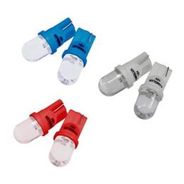 Juego bombillas de posición Amolux LED T10 - elige color: