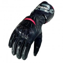 Guantes de verano Unik R-24 Racing color negro