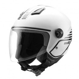 Casco Jet Unik CJ-16 Mode blanco/negro