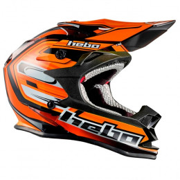 Casco Cross junior Hebo MX Konik naranja