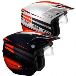 Casco Trial Hebo Zone 3 Square V. II