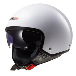 Casco Jet LS2 Wave Blanco