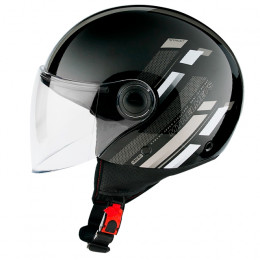 Casco MT Helmets OF501 Street Scope D2 Gris Brillo