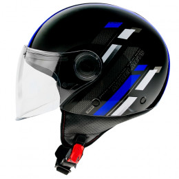 Casco MT Helmets OF501 Street Scope D7 Azul Brillo