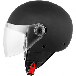 Casco MT Helmets OF501 Street Solid Negro Mate