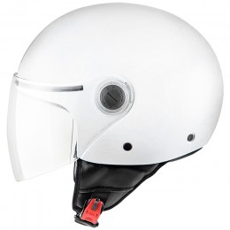Casco MT Helmets OF501 Street Solid Blanco Perla Brillo