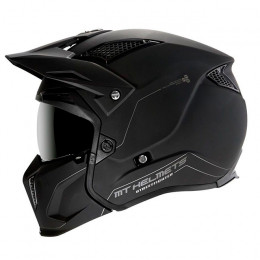 Casco MT Helmets TR902XSV Streetfighter SV Solid A1 Negro Mate