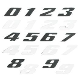 Pegatina Número de Competición 12cm 4R LaserCut
