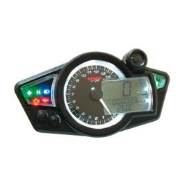 "Cockpit Digital KOSO ""RX1N GP STYLE"" universal 2T/4T (homologado)"