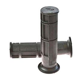 Puños Negros ATV  22mm/126mm cerrado Domino