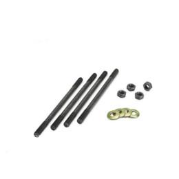 Espárragos M6x160mm, 4 Unidades - Minarelli vertical y Piaggio Allpro