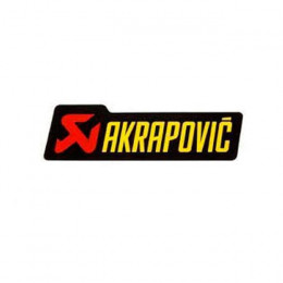 Pegatina Akrapovič anticalorico 150x45mm