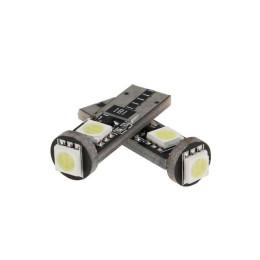 Juego de LEDs Amolux T10 blanco, luces de posicion 3 LED, 130mA