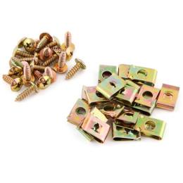 Tornillos y grapas para Carenados M5x15 - 20 Unidades Allpro
