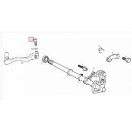 Tornillo pedal cambio M6x25 Derbi