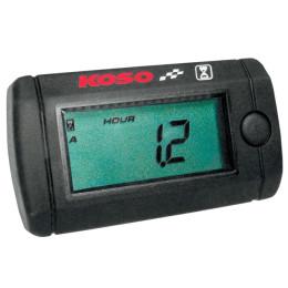 Marcador tiempo de uso motor KOSO Engine-Runtimer, Mini-LCD