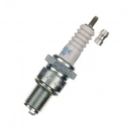 Bujía NGK Nickel Alloy rosca larga BR10EG, electrodo curvado (Aprilia, Honda, KTM)