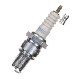 Bujía NGK BR9EG  rosca larga con terminal extraíble, electrodo curvado