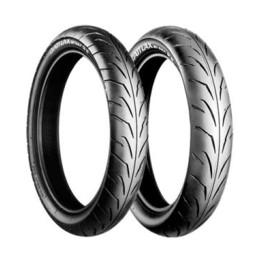 Juego de neumáticos Bridgestone Battlax Supermotard 50cc 100/80-17 y 130/70-17