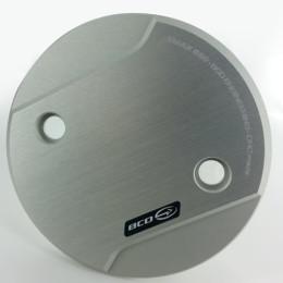 Tapa del carter CNC Yamaha T-Max 530 >12 BCD-Design 2 unidades aluminio/mate