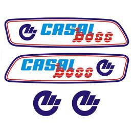Kit pegatinas CASAL BOSS Azul
