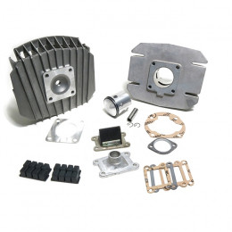 Cilindro Italkit 74cc Gilardoni Aluminio 47mm Derbi FDS / Savannah, Fenix (Admisión cilindro)