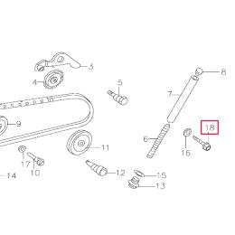 Tornillo distribución Pitbike motor 150-3/E 150-5 YX